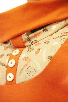 """T-Shirts mit Print - Kurzarm Shirt """"Eulenzauber"""" - ein Designerstück von ZwillingsZwirn bei DaWanda"""