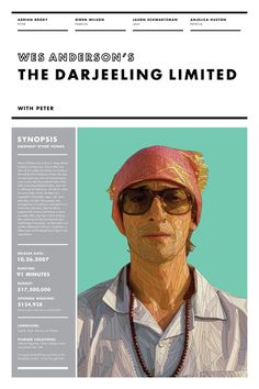 "the plot of the darjeeling limited by wes anderson I loved ""the darjeeling limited"" (which i discuss in the video below) from the  in  my profile of its director, wes anderson, in the magazine this week, i look at the."