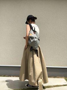 このボリュームスカート本当良い! Dickiesのコラボ系は一度手にするとくせになります。生地の張り