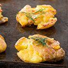 Garlic Smashed Potatoes Recipe at GEAppliances.com