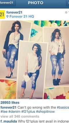 Plus size basics #PlusSize #Curvy #Fashion #Style