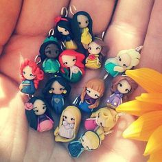 CandyDesignCrea - Welcome to my world! Polymer character jewelry <3