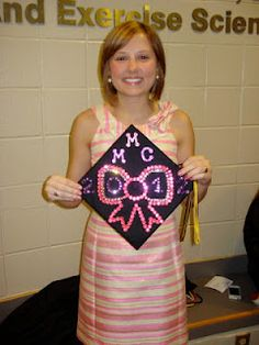 Decorate the Graduation Cap! (so Parents can find you!)