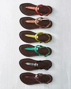 89e87e81c Ilaria Italian Leather T-Strap Sandals http   www.garnethill.com