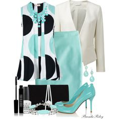 A fashion look from April 2013 featuring Marni blouses, Forever New blazers and J.Crew skirts. Browse and shop related looks.