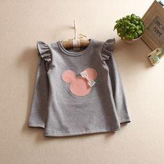 $7.01 (Buy here: https://alitems.com/g/1e8d114494ebda23ff8b16525dc3e8/?i=5&ulp=https%3A%2F%2Fwww.aliexpress.com%2Fitem%2F2016-girls-T-Shirt-Minnie-Cartoon-Tops-Tee-Children-Clothing-baby-girl-clothes-T-Shirts-cotton%2F32756445987.html ) 2016 girls T Shirt Minnie Cartoon Tops Tee Children Clothing baby girl clothes T-Shirts cotton Girls T Shirt  for just $7.01
