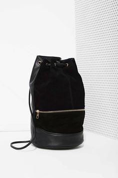 Already Gone Suede Bucket Backpack | Shop Bags + Backpacks at Nasty Gal