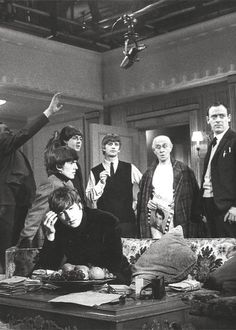 Filming A Hard Days Night.