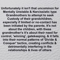 Protect Your Children From Narcissistic Toxic Grandmothers