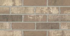 St. Thomas by Glen-Gery brick is a brown extruded facebrick from the Marseilles Plant #brick #glengery #brickhome #brownbrick