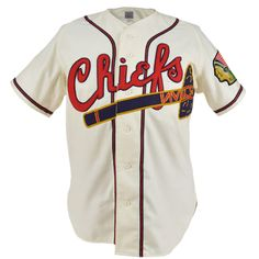 22ff97840 Hartford Chiefs 1949 Home Jersey Sports Uniforms