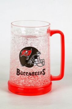 16Oz Crystal Freezer Mug - Buccaneers