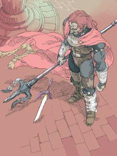 Ganondorf, seigneur des gérudos.