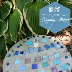 DIY Stepping Stones Tutorial