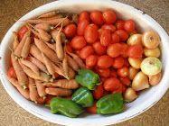 Pasta sauce and salsa - preserving garden food