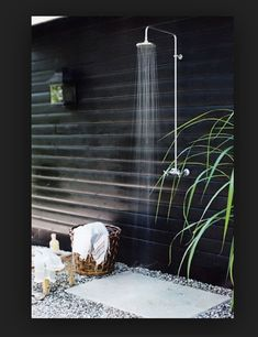Happening this Summer! Outdoor shower.