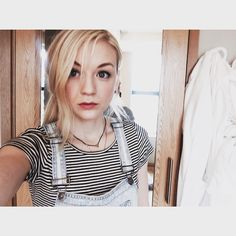 """Emily Kinney-""""Casual interview. Goodmorning Monday."""""""
