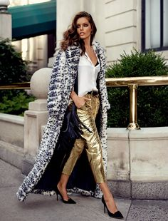 Vogue Spain Editorial October 2014 - Emily DiDonato by Miguel Reveriego