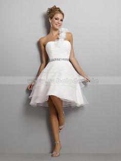 Hochzeitskleid standesamt kurz