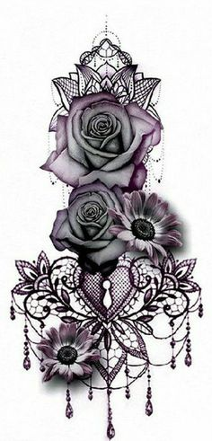 Gothic Rose Mandala Chandelier Back Tattoo ideas for Women - Traditional Vintage.Gothic Rose Mandala Chandelier Back Tattoo ideas for Women - Traditional Vintage Cool Unique Geometric Black Floral Flower Sunflower for Spine - rosas góticas ide Diy Tattoo, Custom Tattoo, Knot Tattoo, Hand Tattoo, Tattoo Spine, Back Tattoos Spine, Woman Back Tattoos, Cover Up Back Tattoos, Female Back Tattoos
