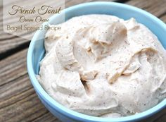 French Toast Cream Cheese Bagel Spread Recipe