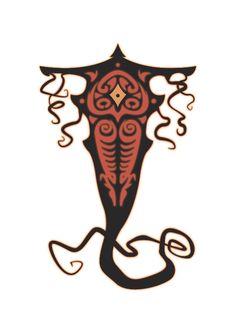 The Legend of Korra: Raava & Vaatu by Jindrich Schelfhout, via Behance