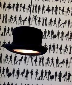 Top Hat Pendant light - Wooster