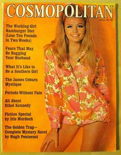 Cosmopolitan magazine, JANUARY 1967 Model: Anka Marquand