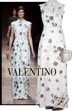 """Valentino Spring 2013"" by kmp11 ❤ liked on Polyvore"