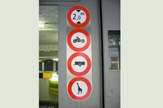 Entrée de parking d'un hôtel de Lucerne - Suisse