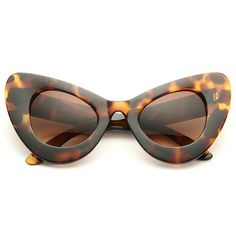 6a093fb685 Amber Rose Style Oversized Cat Eye Celebrity Sunglasses