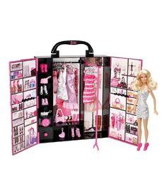 Barbie Closet Fashion Doll