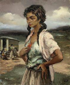 Marcel Dyf (French, October 7, 1899–September 15, 1985) (531×640)