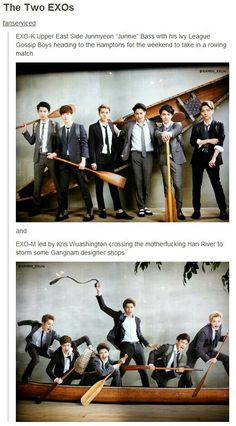 How to Explain the Difference Between EXO-K and EXO-M