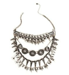 Pre-Order: Tribal Rhinestone Necklace Set