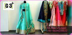 Designer Lehnga Choli Latest Trend Of Embellish & Embroidery. To View more collection at www.g3fashion.com For price or detail do whatsApp +91-9913433322.  #lehengas #lehenga #bridalexhibition #diwali #festiveseason #weddingseason #bridaljewellery #lehengaideas #bride #indianbride #wedding #indianwedding #weddingsutra #bridallook #dday #bridalshoot #traditional #indianwedding #WeddingSutra #candidphotography #lehengadiaries #desibride