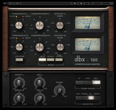 dbx® 160 Compressor / Limiter Plugin | Waves
