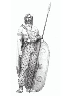 Warrior Drawing, Rude People, Celtic Warriors, Celtic Culture, 11th Century, Iron Age, Anglo Saxon, Picts, Moorish