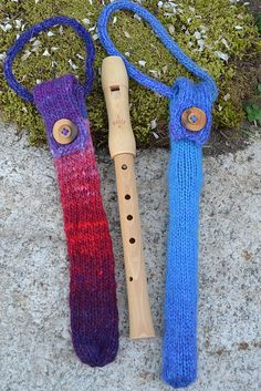 Ravelry: alittlecraftynest's recorder cases free pattern