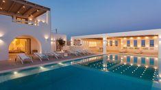 Luxury Villa with Private Pool Aegean Sea Views - Paros Villa With Private Pool, Paros, Lombok, Vacation Villas, Luxury Villa, Swimming Pools, Mansions, House Styles, Opera