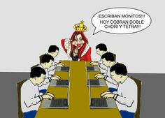 Just a group of cyberidiots commanded by the Queen Cristina Fernández de Kirchner, just to troll on every news about government corruption...