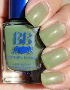 BB Couture - Green Gloss Coating