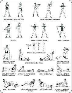 Cvičení s gumou