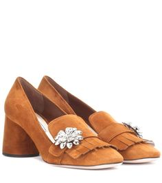 PRADA Suede pumps. #prada #shoes #pumps