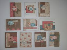 Clementine All Occasion Cards #CTMH Stamp, Scrap, Craft with Judy
