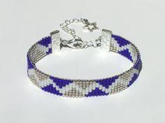 Bracelet tissé en perles Miyuki Delica - Swapie #5