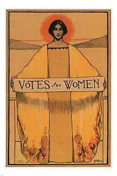 VOTES FOR WOMEN vintage political poster B. BOYE 1913 USA rare HOT Brand New. Will ship in a tube. Reproduction of aged original vintage art print. Great wall decor art print at Room Posters, Poster Wall, Poster Prints, Life Poster, Wall Art Posters, Fine Art Posters, Movie Posters, Political Posters, Political Art