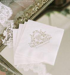 Custom Wedding Monogram by Kara Anne Paper