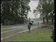 Harrier 4Sqn RAF Gütersloh im Manöver Lionheart 9/1984 - YouTube