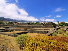 The six step pyramids in Tenerife were constructed according to similar principles to those in Mexico, Peru and ancient Mesopotamia. Step Pyramid, Places In Spain, Ancient Mesopotamia, Shore Excursions, Canary Islands, Cruise, National Parks, Mexico, World
